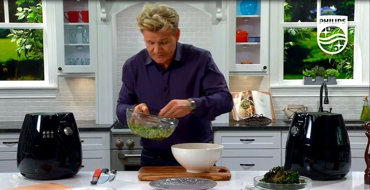 Michelin Star Chef Gordon Ramsay shares how to prepare a Kale and Roasted…