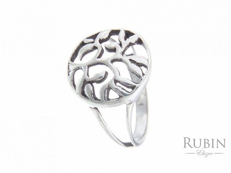 Életfa motívumos ezüst gyűrű