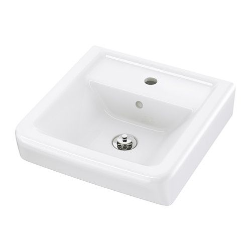 IKEA - HAMNVIKEN, Lavoar,  , , Garanţie 10 ani. Citeşte mai multe în broşura de garanţii.Colectorul de apă flexibil inclus este ușor de conectat la scurgere, mașina de spălat și uscător.