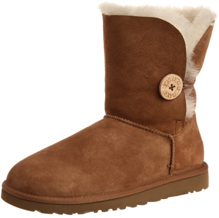 Ugg Women Winter Boots UGG® Australia Women's Bailey Button Boots Sheepskin  Man-Made sole Shaft measures approximately Mid-Calf