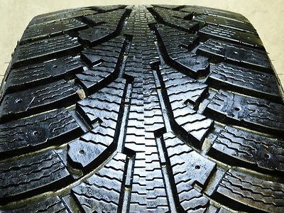 One Used Nokian Nordman 5 SUV 215/60/17 215 60 17 P215/60R17 Tire J 79873 UF