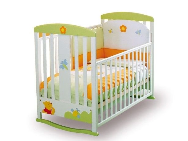 Adorable Winnie the Pooh Baby Furniture for Your Babies with Colorful Wooden: Funny White Green Nursery Winnie The Pooh Baby Furniture Design As Glamorous Veengle Design And Style ~ ovceart.com Kids Room Designs Inspiration