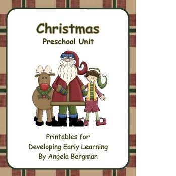 A Christmas themed printable for developing early learning. (91 pages)