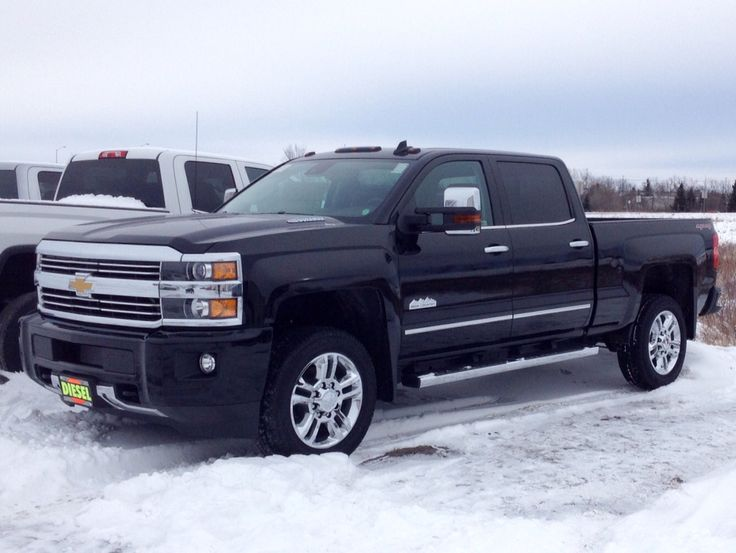 2015 2500 Chevy high country Duramax diesel.