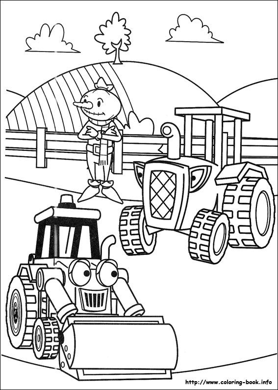 14 best Coloring Pages for Kids images on Pinterest Bob the