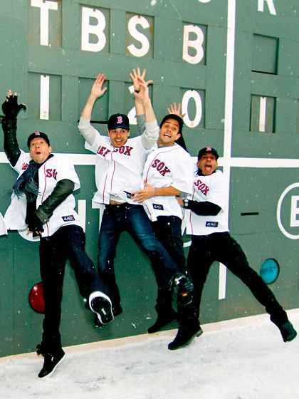New Kids on the Block and Fenway...a few of my favorite things