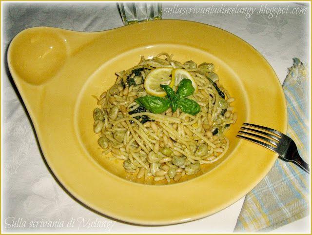 Spaghetti freddi con verdure al limone (ricetta con Magic Cooker)