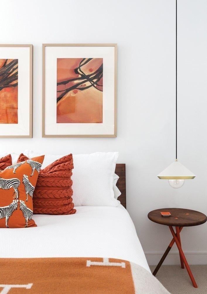 46 Charming Fun Tween Orange Bedroom Ideas For Girls Accent Walls