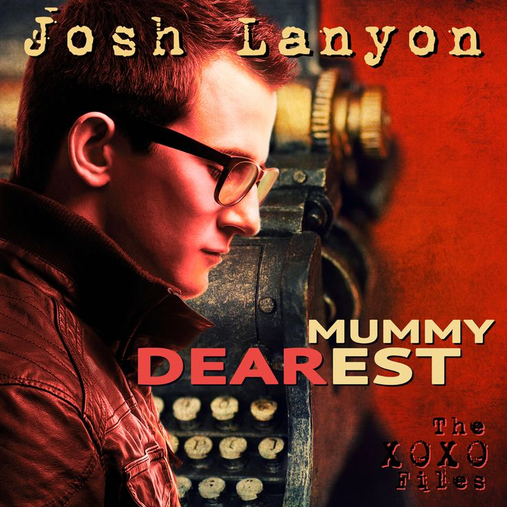 Mummy Dearest by Josh Lanyon audio book cover (cover by Johanna Ollila, 2014)