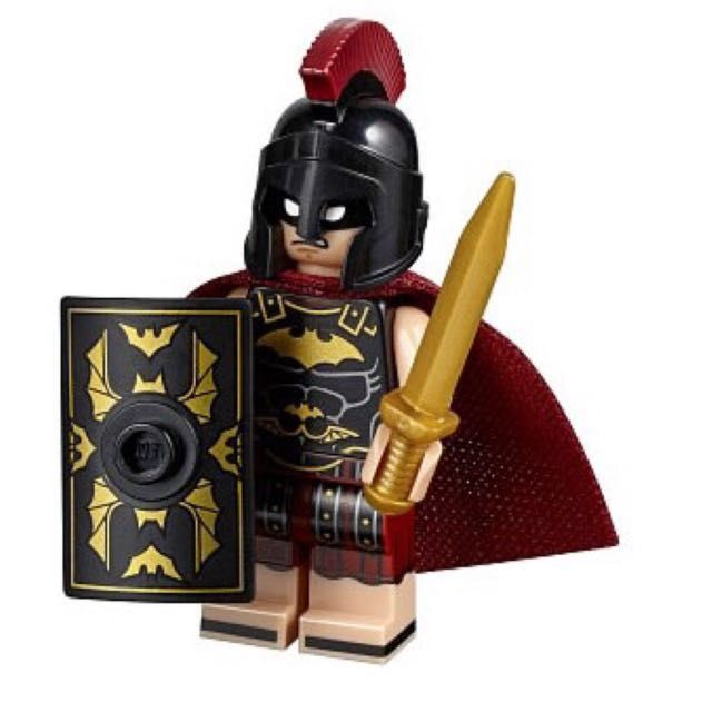 Lego baturion minifigure complete from 5004939 the lego batman movie collection