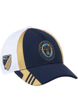 Adidas Philadelphia Union Mens Navy Blue 2017 Authentic Team Flex Hat