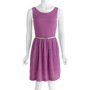 Fitting Room Spring- George Women's Knit Belted Dress