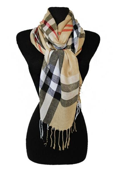 Burberry look Scarf-Go in style! This scarf goes with anything and looks very Posh!  Be your sassy-est! SassyFoxe.com
