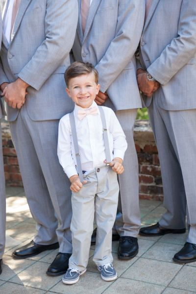 A preppy ring bearer: http://www.stylemepretty.com/california-weddings/kenwood/2015/03/17/romantic-hilltop-wine-country-wedding-at-kunde-family-estate/ | Photography: Jen Philips - http://www.jenphilips.com/