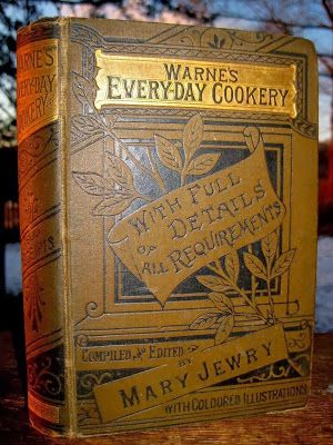 Goth Shopaholic: Exquisite Antique Victorian Cookbooks and Housekeeping Books