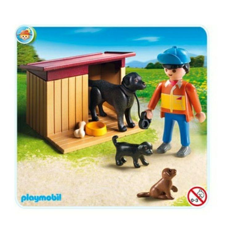Playmobil 5125 cuidador de perros Playmobil, Animales y