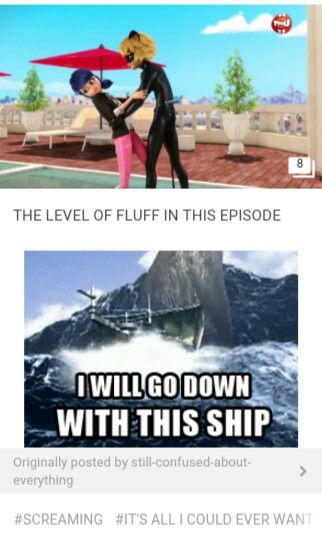 I WILL GO WITH THE SHIP!!! ⛵⛵⛵⛵⛵⛵⛵