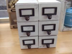 画像 : ネットで見かけたセリアの「ドロワーボックス」を使ったリメイクが素敵過ぎる! - NAVER まとめ