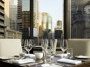 SOFITEL BRISBANE CENTRAL -  With undoubtedly the best views of Brisbane City the exclusive Club Sofitel located on level 30 hosts luxurious High Tea daily. Harlequin Jack offers relaxed bistro dining and full bar services and enjoy full gaming facilities.