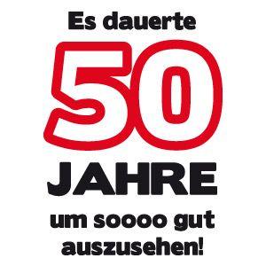 50. Geburtstagshirts, T-Shirt 50. Geburtstag, T Shirt Sprüche zum 50. Geburtstag, T Shirt zum 50. Geburtstag, 50er Geschenkidee, Geschenk Geburtstag 50 (Cool Shirts)