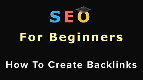Creating quality backlinks is the most important part of SEO. In this step-by-step video you will learn how to create a quality backlink!