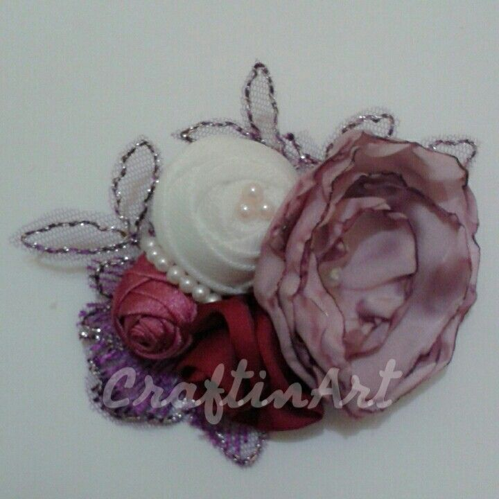 """CraftinArt """"Couture Brooches"""""""