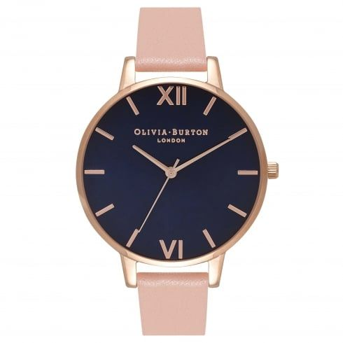 Big Dial Midnight Dial, Rose Gold & Dusty Pink - from Olivia Burton UK