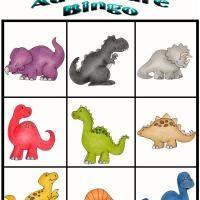 Bingo des dinosaures