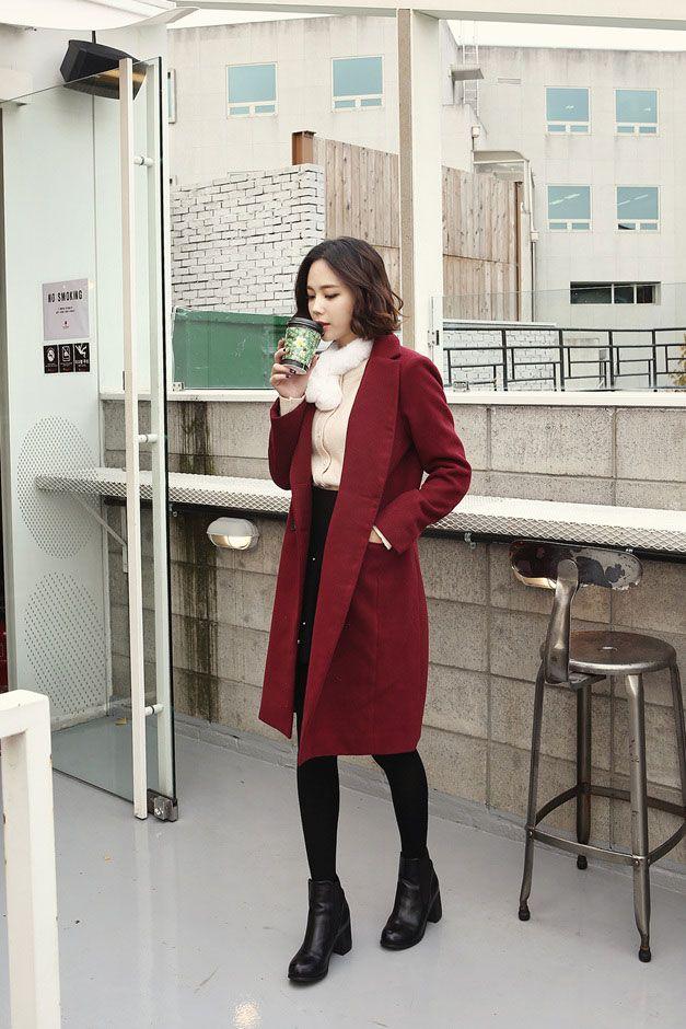529 best Korean Fashion Jackets images on Pinterest | Korean ...