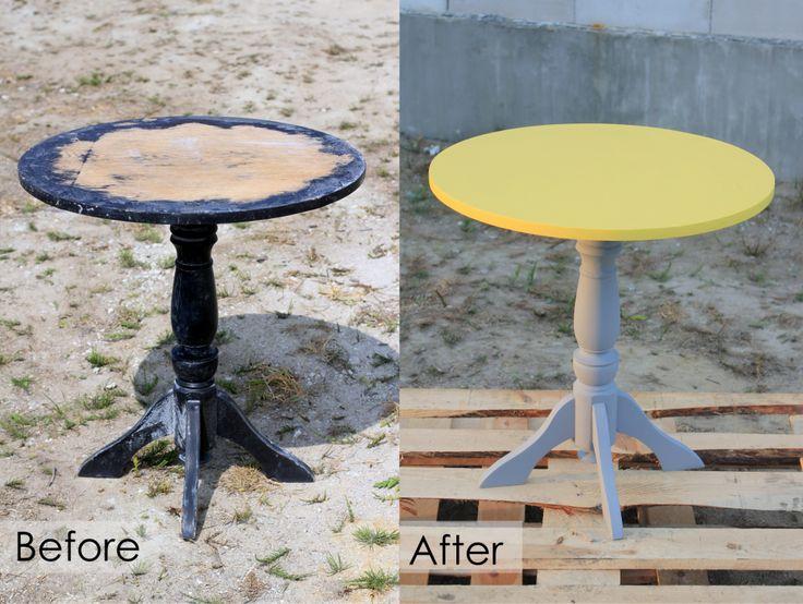 Odnowiony stolik – DIY | Budowa marzeń