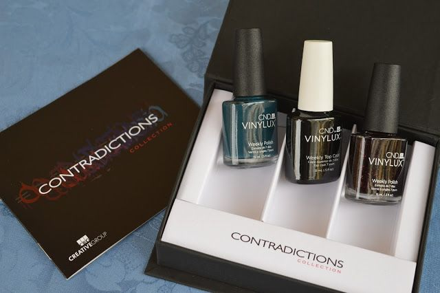 Stars and stellars           : CND Vinylux Contradictions, review and swatches!