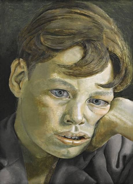Charlie Lumley by Lucian Freud