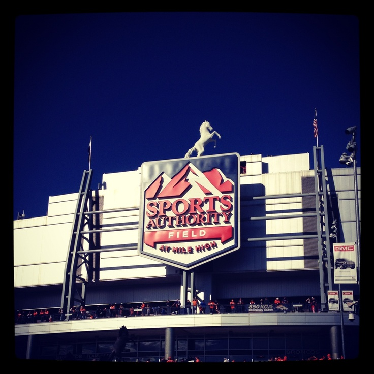Sports Authority Field @ Mile High!!!