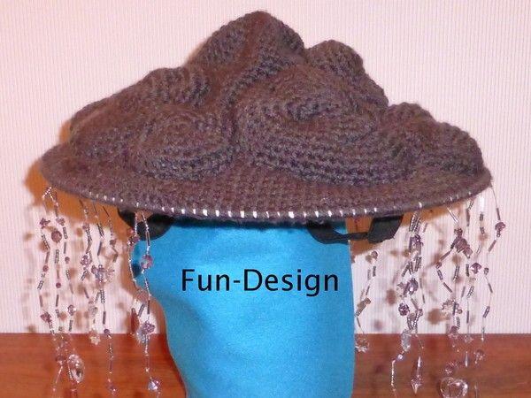 Lust auf etwas anderes zu Karneval oder Halloween? Zu dem Hut einfach graue Kleidung und ein dramatisches Make-Up kombinieren und fertig ist ein wirklich induviduelles Kostüm. Achtung, dies ist eine Anleitung und kein fertiges Produkt! Diese geschriebene