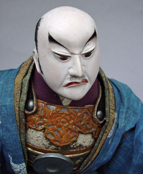 Antique Japanese Kabuki Doll in Noh Costume | Japanese ...