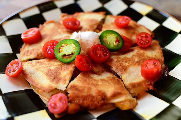 Chicken Quesadillas are absolutely a go-to recipe in our household, but while I've made them on my show (and have posted diff...