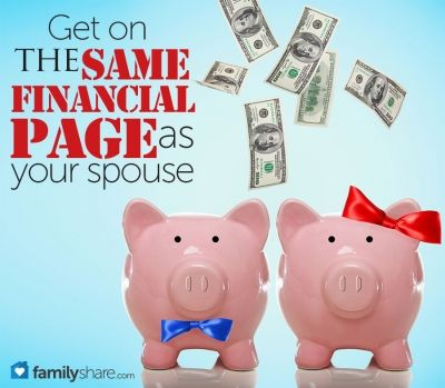 Get on the same financial page as your spouse... more important than you think!