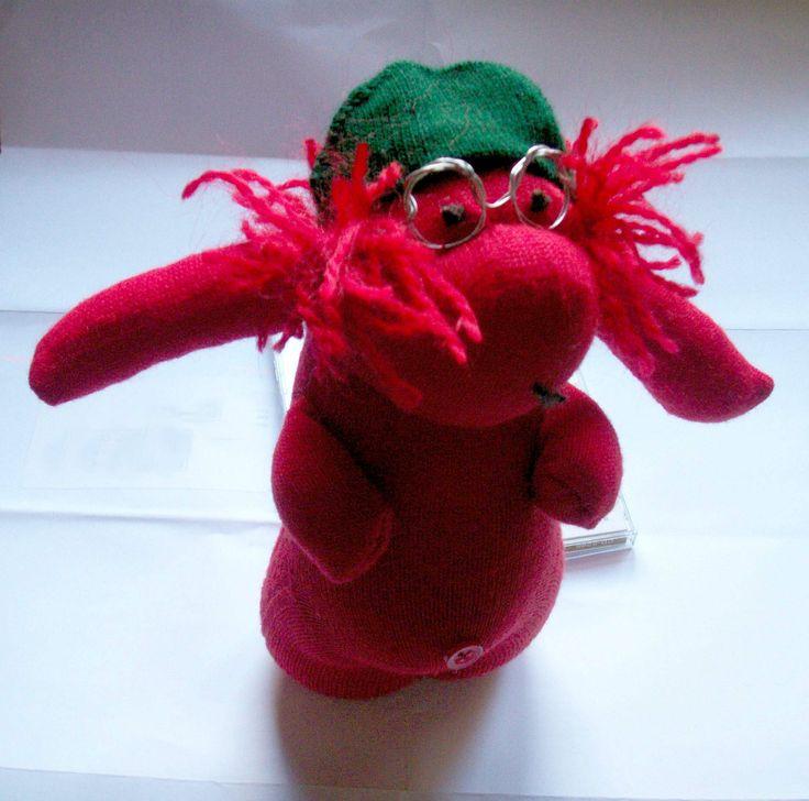 Reciclaje - muñecos de calcetín