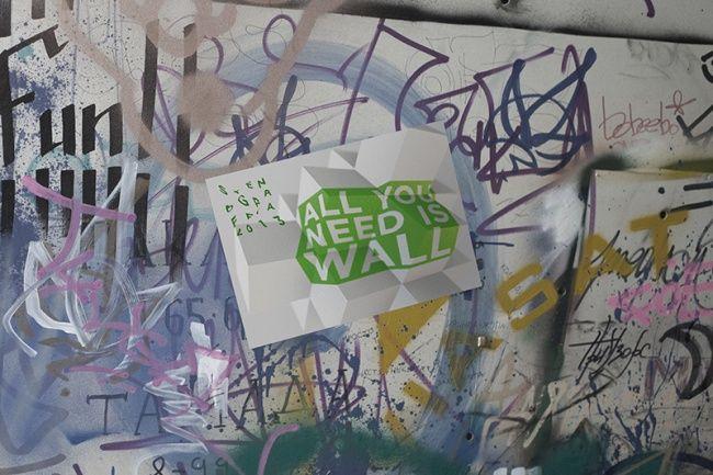 Фестивалю уличного искусства сделали ломаный логотип