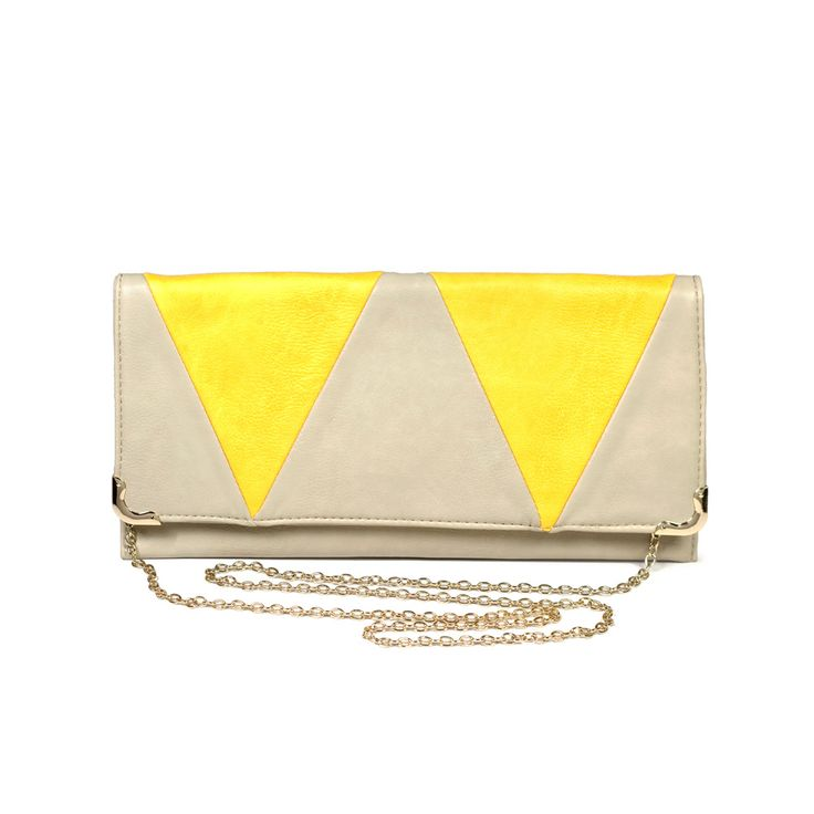 Triangle Flap Clutch by Street Level: Black Bags, Custom Purses, Clutch Purse, Purse Clutches Bags, Triangle Flap, Bags Fashion, Bags Clutches
