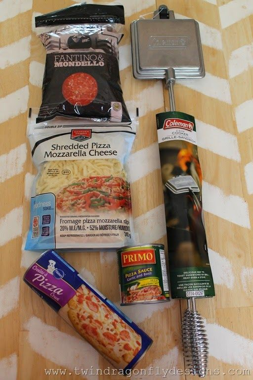Camp Cooker Pizza - Pie Iron Pizza                                                                                                                                                                                 More