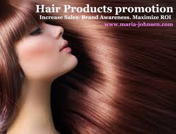 we increase sales of your hair products