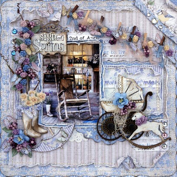 Maja Design Mood Board April inspiration - Scrapbook.com