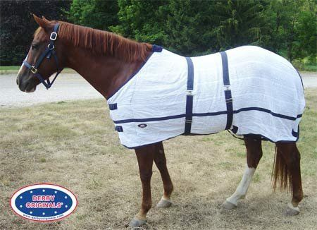 Irish Knit Anti Sweat Horse Sheet by Derby Originals. $32.95. 100% cotton. Double surcingles. Double front buckles. Breathable cotton fabric aids in cooling and fly protection.