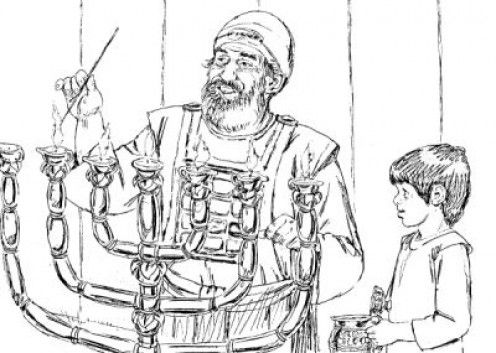 christian coloring pages of samuel - photo#30