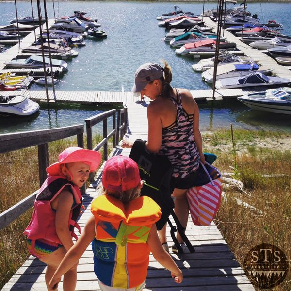 Big Pine Campgrounds - Lake Koocanusa - Boat dock