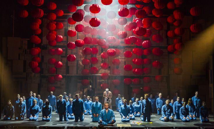 Turandot - Neal Cooper (Calaf), Christopher Gillett (Emperor Altoum), Padraic Rowan (Mandarin), The Chorus of Northern Ireland Opera - #TurandotBelfast