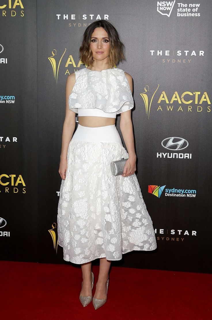 Rose Byrne in Maticevski.