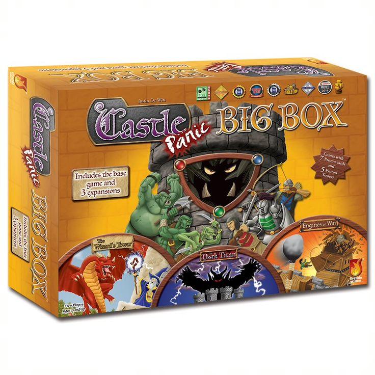 Castle panic big box family games for kids