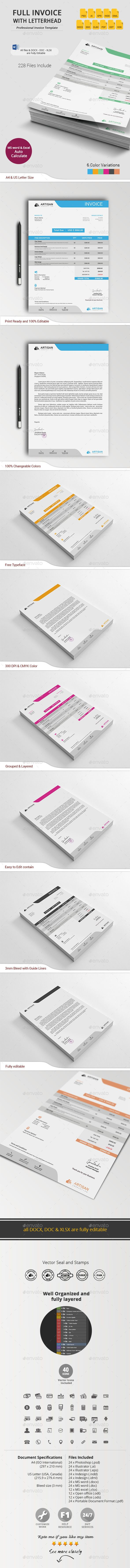 616 best Invoice images on Pinterest | Invoice template, Invoice ...